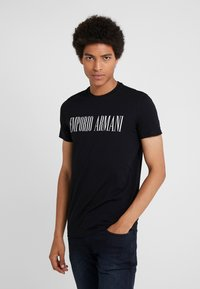 Emporio Armani - T-shirt med print - nero - 0