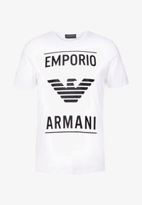 Emporio Armani - T-shirts med print - bianco ottico - 3