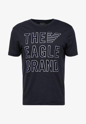 Camiseta estampada - blu navy