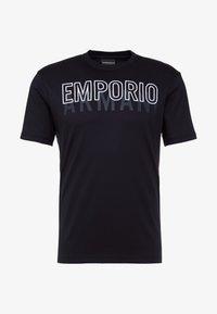 Emporio Armani - Triko spotiskem - blu navy - 3