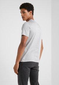 Emporio Armani - Print T-shirt - grigio melange - 2