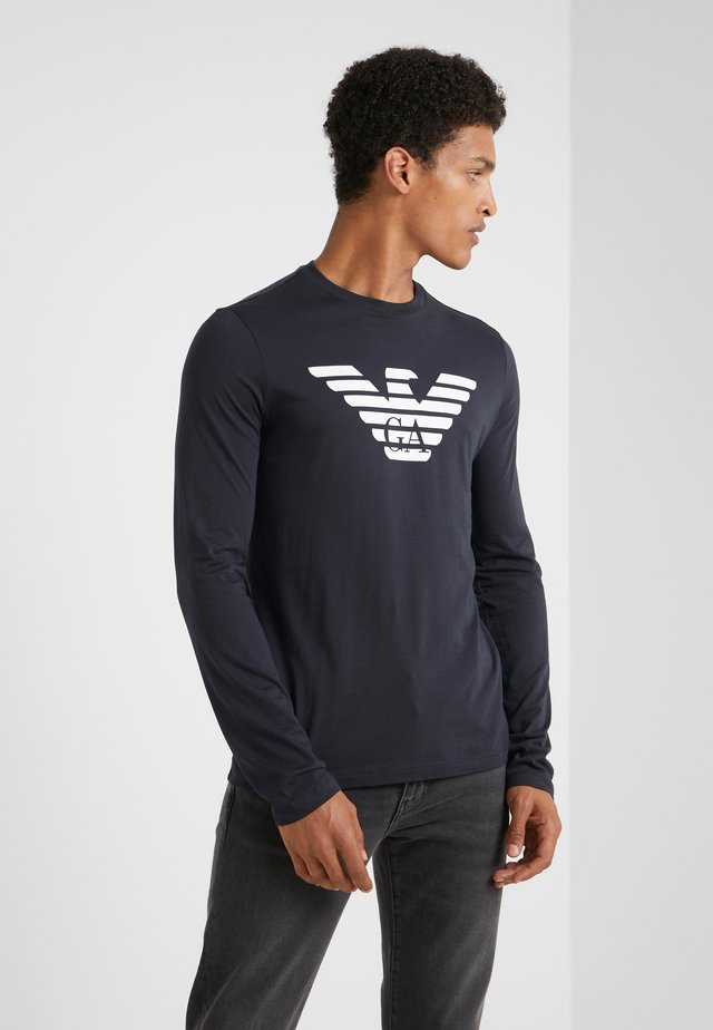 Långärmad tröja - blu scuro