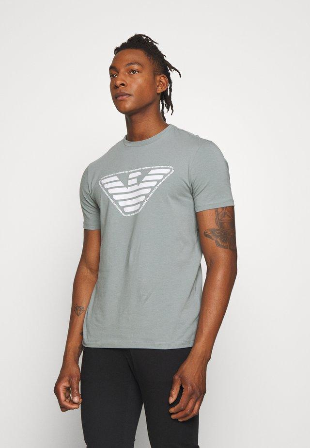 T-Shirt print - verde marino