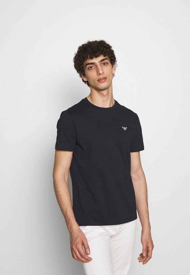 Emporio Armani - Basic T-shirt - blu navy