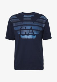 Emporio Armani - T-shirt imprimé - blumed stam - 4