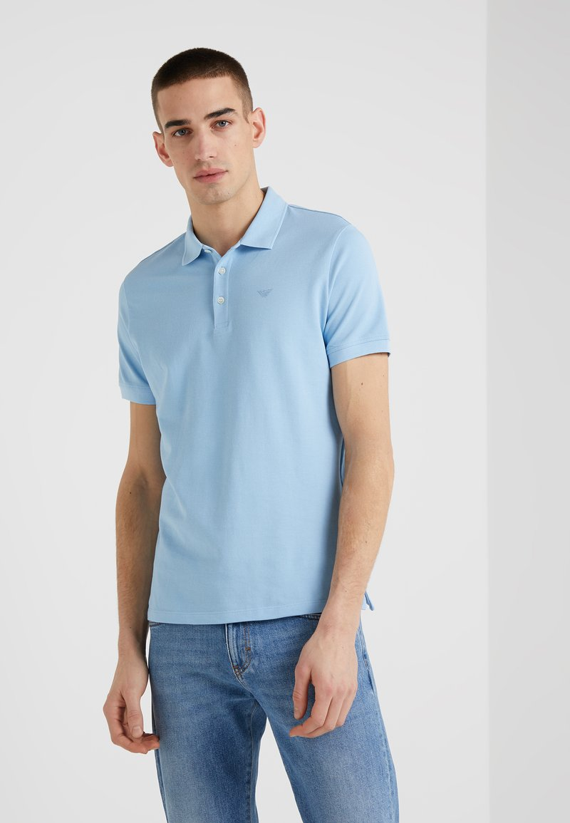 Emporio Armani - Poloshirt - light blue