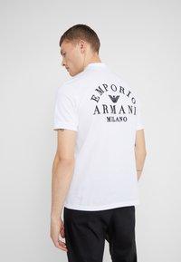Emporio Armani - Polo - bianco ottico - 2