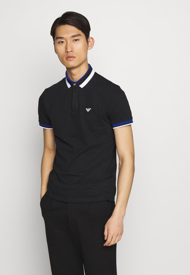 Polo - black/blue