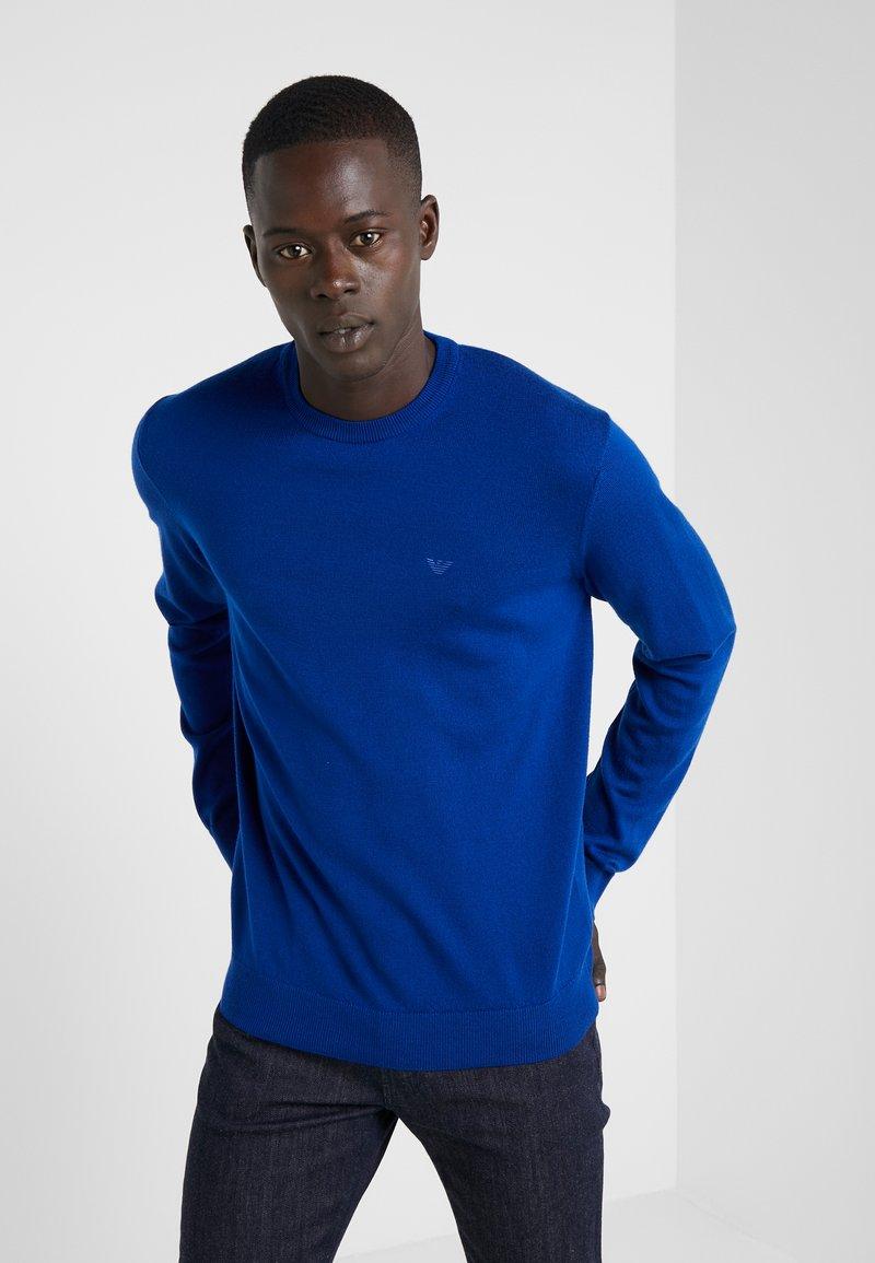 Emporio Armani - Sweter - bluette