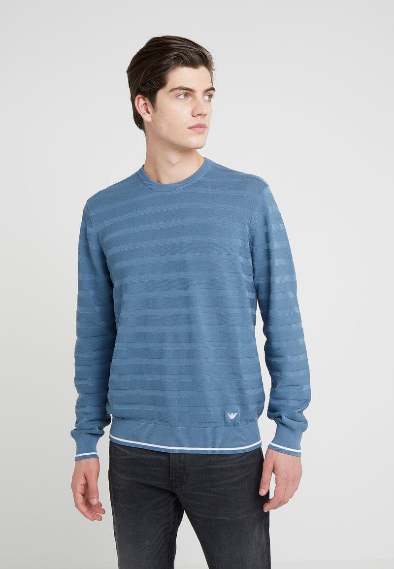 Emporio Armani - Strickpullover - light blue