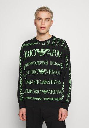 MAGLIERIA - Pullover - nero / verd
