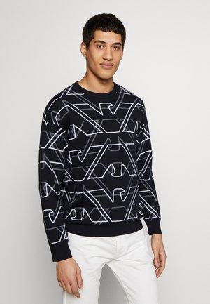 MAGLIERIA - Stickad tröja - blu aquila bca