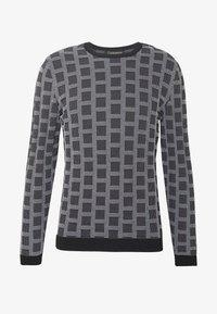 Emporio Armani - MAGLIERIA - Sweter - black - 4