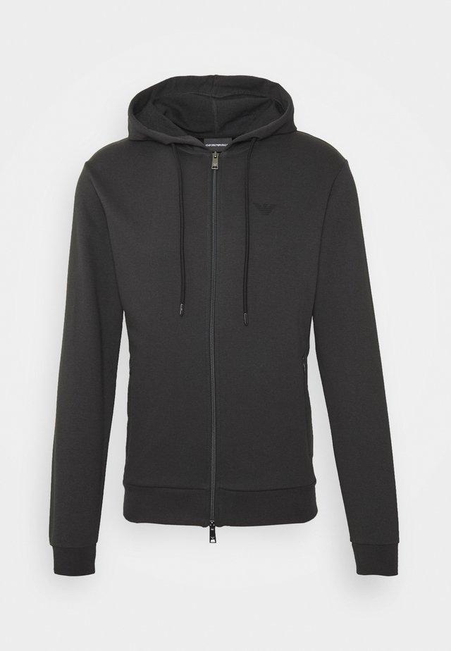 ZIPPED HOODIE  - Sweatjakke /Træningstrøjer - dark grey