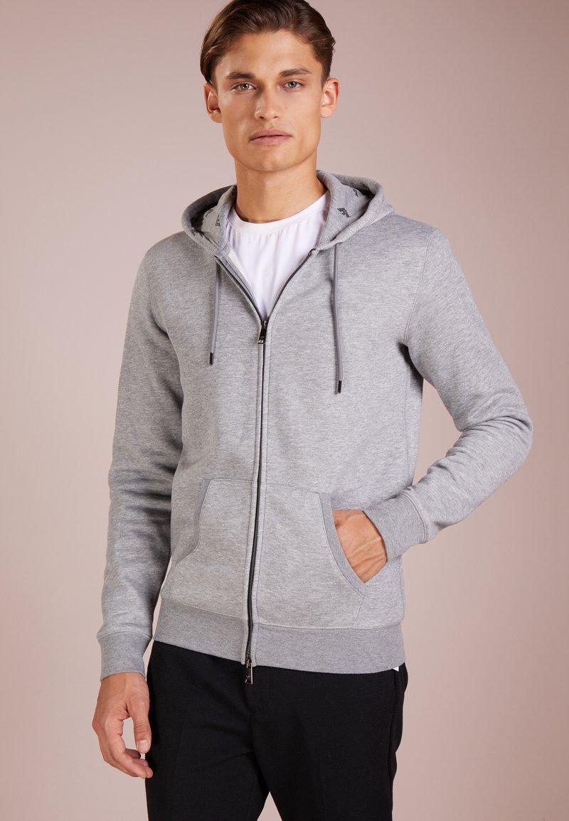 Emporio Armani - FELPA - Zip-up hoodie - grigio melange