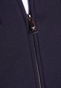 Emporio Armani - FELPA - Zip-up hoodie - blu - 4