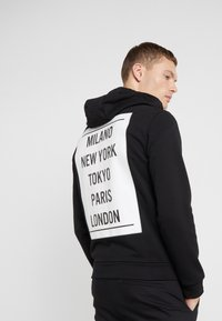 Emporio Armani - FELPA - veste en sweat zippée - nero - 2