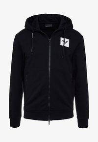 Emporio Armani - FELPA - veste en sweat zippée - nero - 3