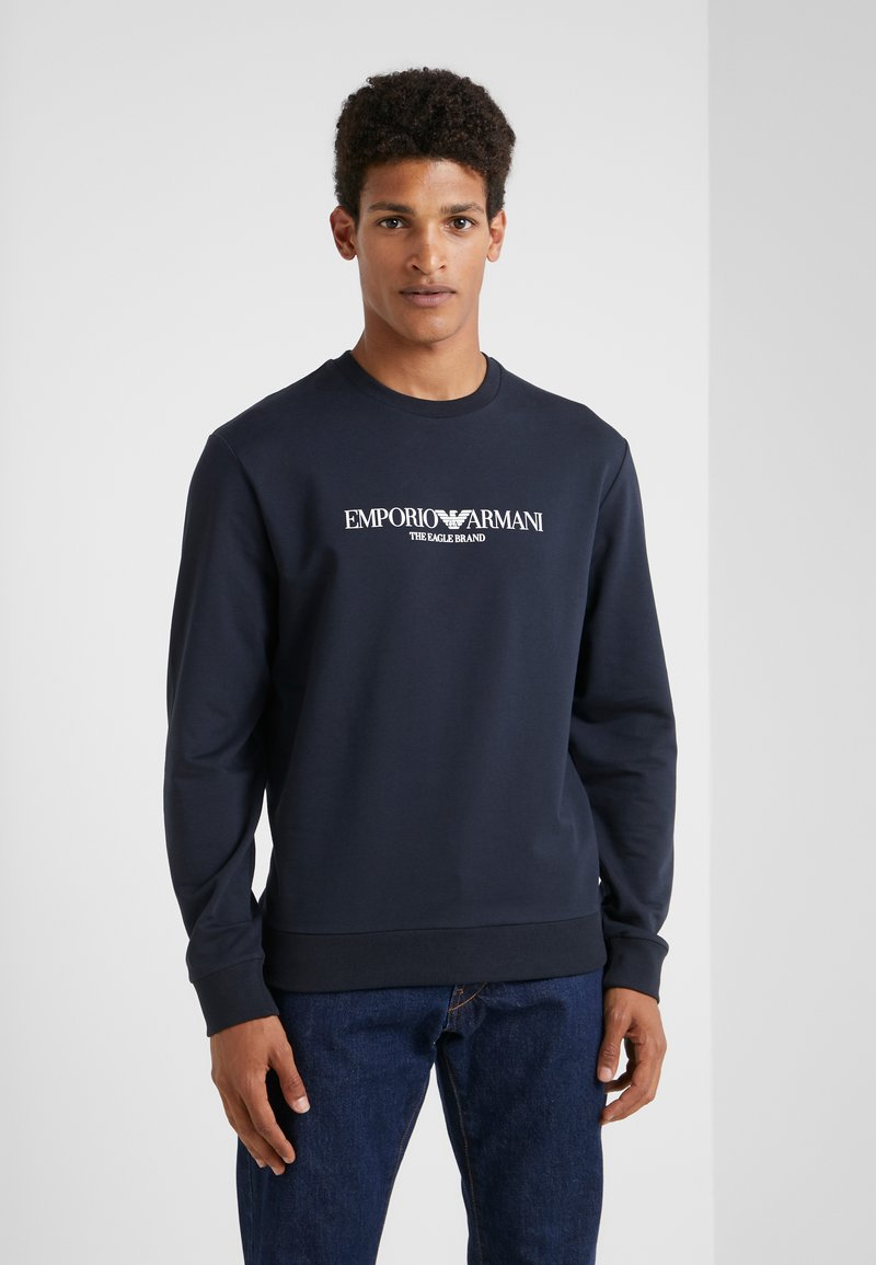 Emporio Armani - Sweatshirt - blu navy