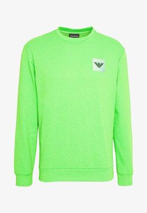FELPA - Sweater - verde fluo