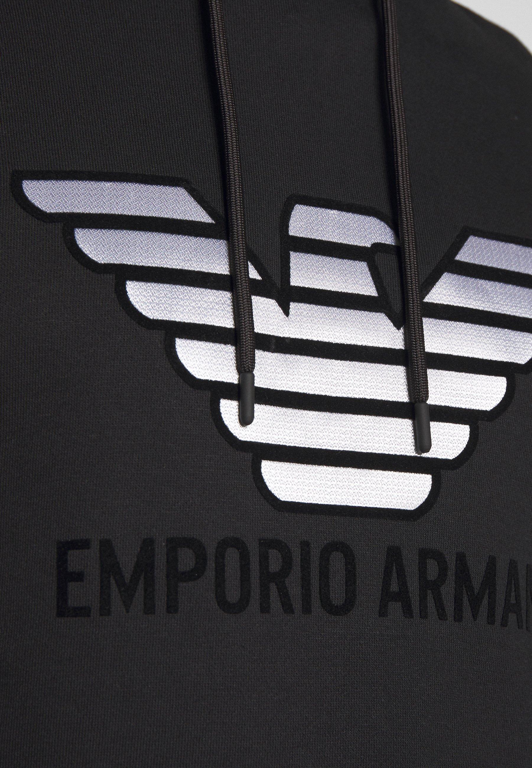 Emporio Armani Felpa - Luvtröja Nero
