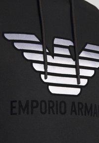 Emporio Armani - FELPA  - Sweat à capuche - nero - 5