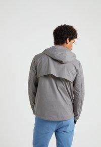 Emporio Armani - BLOUSON JACKET - Lehká bunda - grey - 2