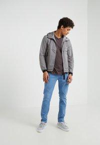 Emporio Armani - BLOUSON JACKET - Lehká bunda - grey - 1