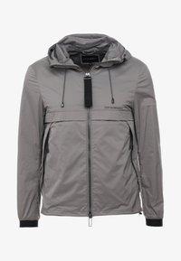 Emporio Armani - BLOUSON JACKET - Lehká bunda - grey - 3