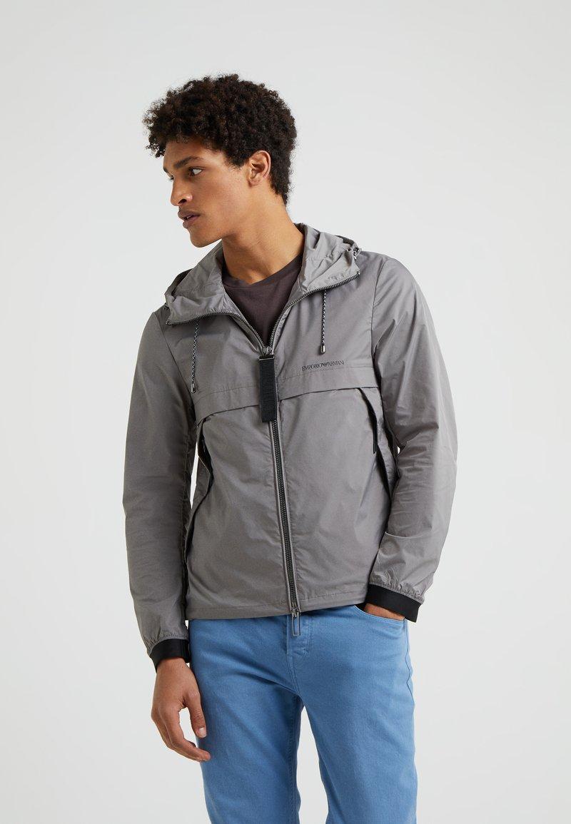 Emporio Armani - BLOUSON JACKET - Lehká bunda - grey