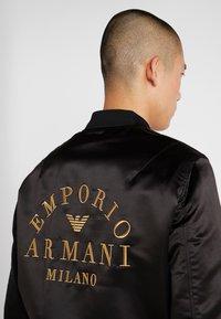 Emporio Armani - BLOUSON - Bomber Jacket - nero - 4
