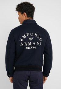 Emporio Armani - BLOUSON - Bomberjacks - blue navy - 3