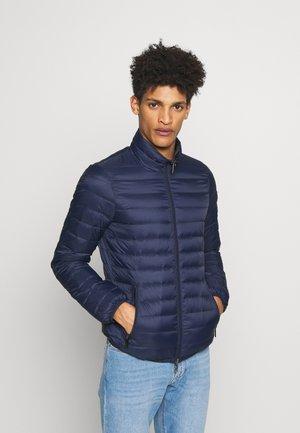 GIACCA PIUMINO TESSUTO - Down jacket - blue