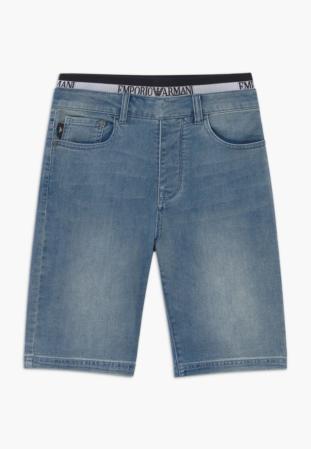 Jeans Short / cowboy shorts - denim blue