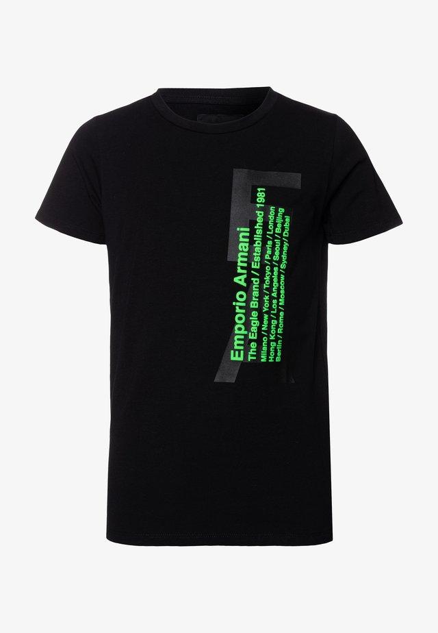 Camiseta estampada - nero