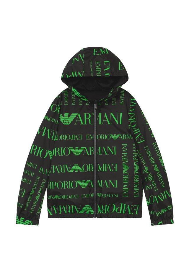 BLOUSON - Light jacket - logo verde