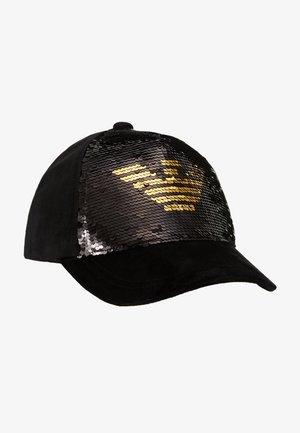 GLITTER SEQUIN CAP - Cap - black
