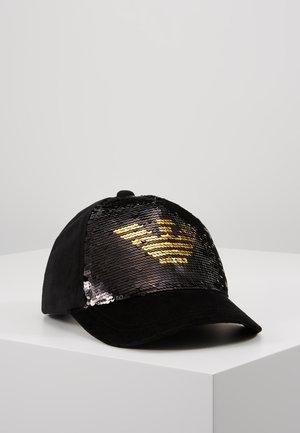 GLITTER SEQUIN CAP - Casquette - black