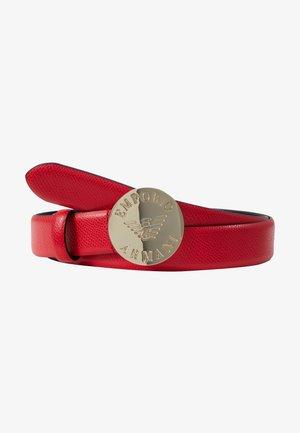 MINI DOLLARO CIRCLE BUCKLE - Belt - papavero