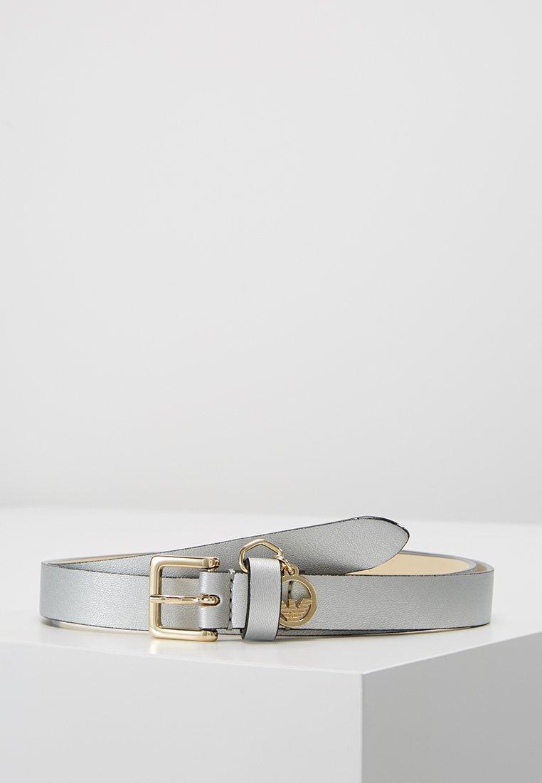 Emporio Armani - Belt - argento silver