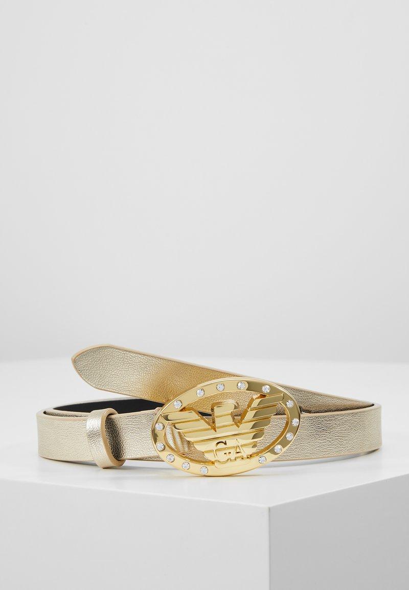 Emporio Armani - BELTS - Belt - gold
