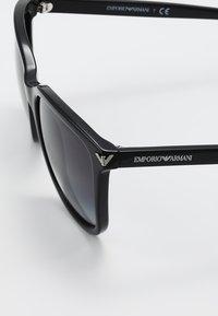 Emporio Armani - Sunglasses - black - 4
