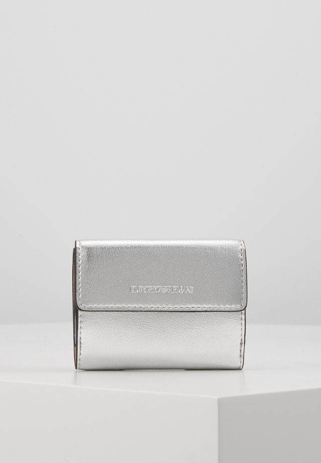 CAPSULE HOLIDAY MINI WALLET - Portemonnee - silver