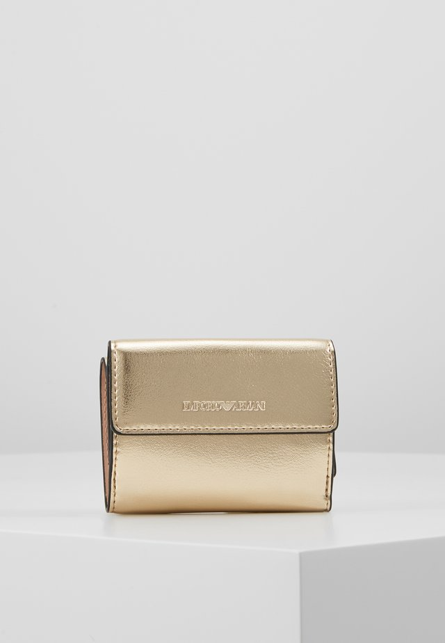 CAPSULE HOLIDAY MINI WALLET - Portfel - gold