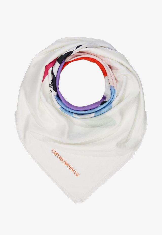 FOULARD GRAPHICS BLOCK - Chusta - white/multi