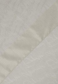 Emporio Armani - STOLE SIGNITURE - Scarf - pearl grey - 1