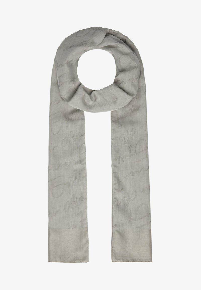 Emporio Armani - STOLE SIGNITURE - Scarf - pearl grey