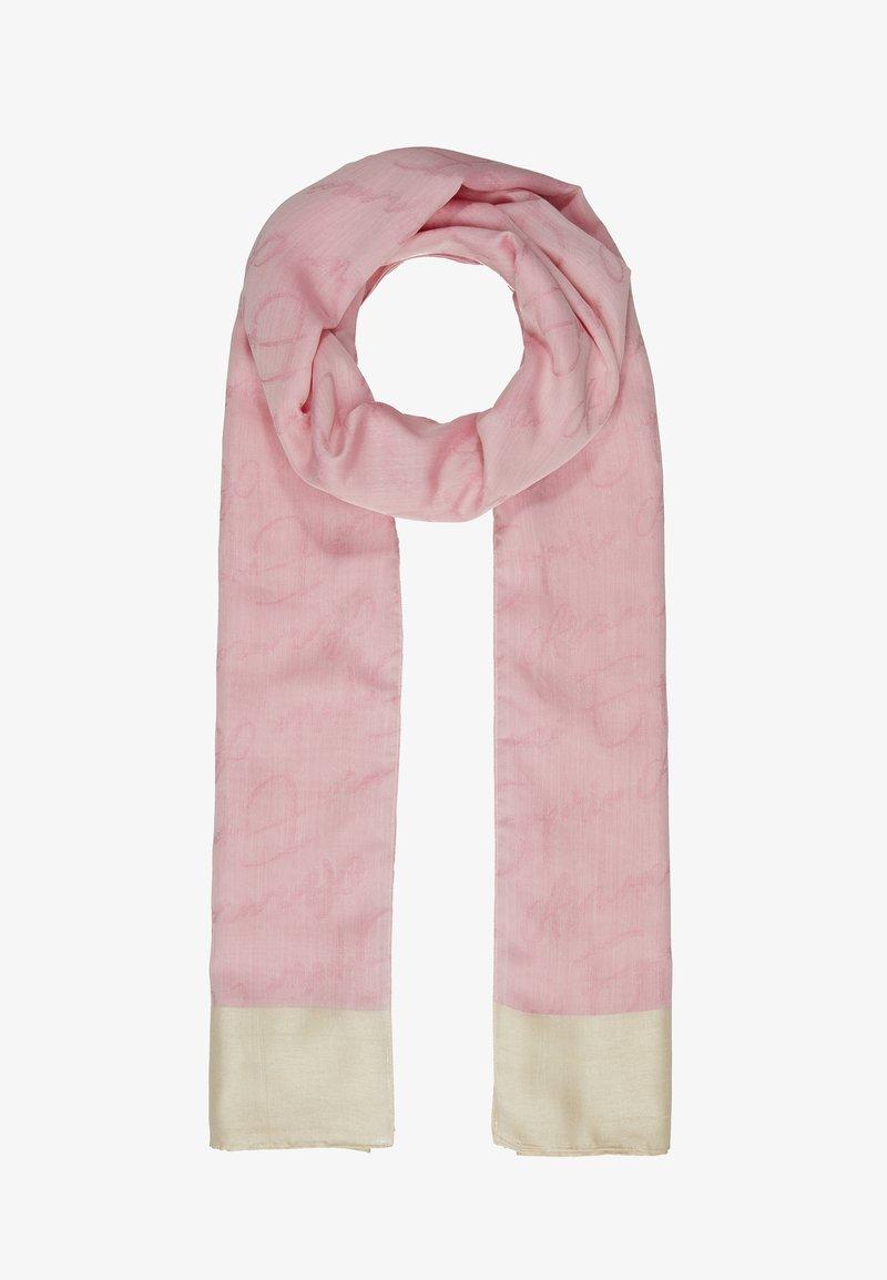 Emporio Armani - STOLE SIGNITURE - Scarf - pop pink