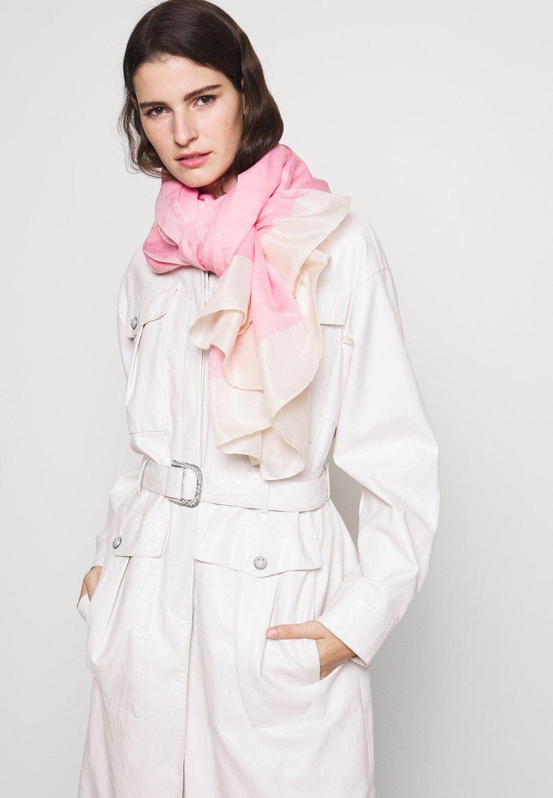 Emporio Armani - STOLE SIGNITURE - Écharpe - pop pink