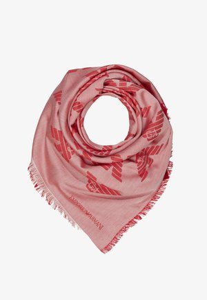 FOULARD TILED EAGLE PRINT - Foulard - graphic red